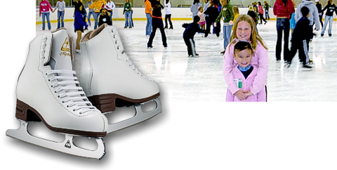 Public Ice Skating at Hobart Arena in Troy, Ohio